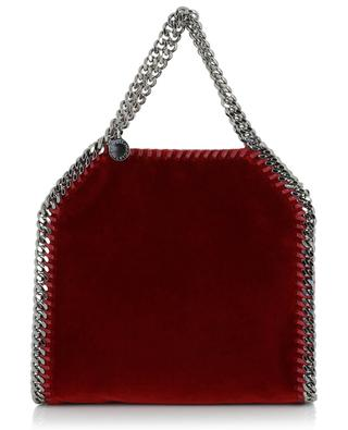 Mini-sac cabas en velours Falabella STELLA MCCARTNEY