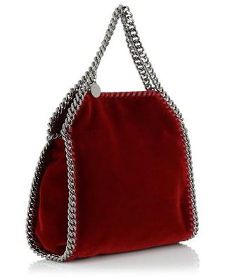 Falabella velvet mini tote bag STELLA MCCARTNEY