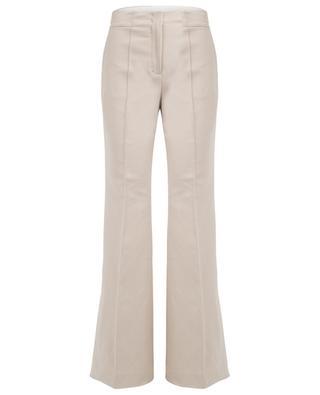 Pantalon taille haute en coton mélangé Look Sharp SCHUMACHER