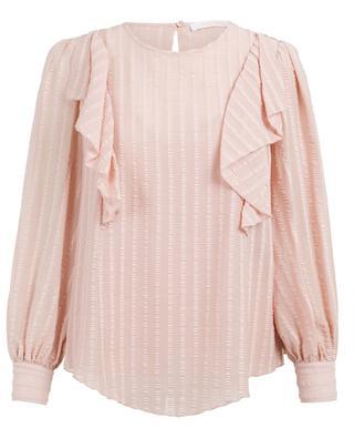 Bluse aus Baumwollmix SEE BY CHLOE