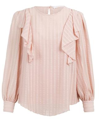 Cotton blend blouse SEE BY CHLOE
