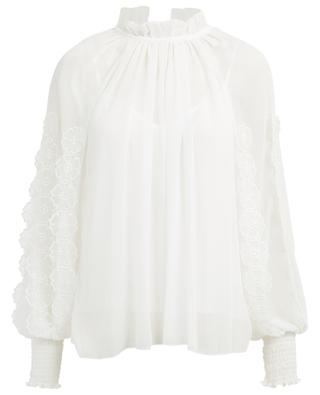 Bestickte Bluse aus Crêpe SEE BY CHLOE