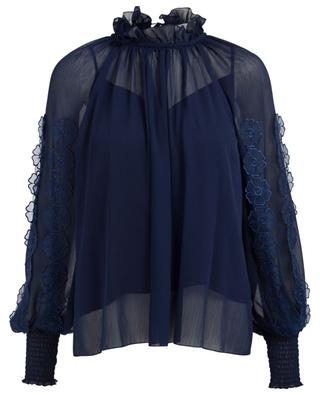 Crepe blouse with embroideries SEE BY CHLOE