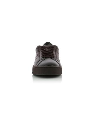 Smooth leather sneakers SANTONI
