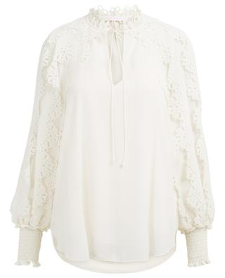 Breezy lace embellished top SEE BY CHLOE