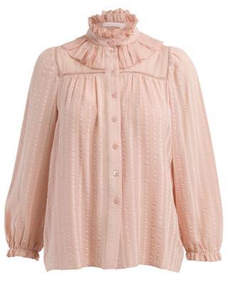 Bluse aus Baumwollmix im victorianischen Stil SEE BY CHLOE