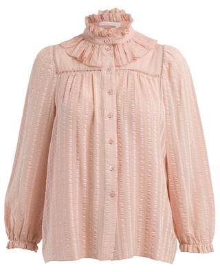Victorian style cotton blend blouse SEE BY CHLOE