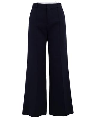 Cotton blend wide-leg trousers SEE BY CHLOE