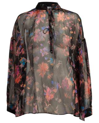 Beatle printed silk blouse IRO