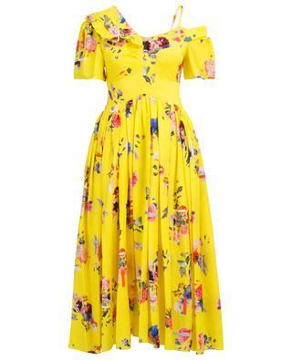 Printed silk long dress PREEN