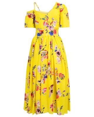 Bedrucktes langes Kleid aus Seide PREEN