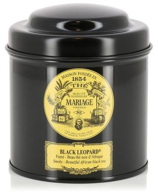 Black Leopard smoked black tea MARIAGE FRERES