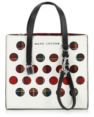 Sac cabas The Perforated Tartan Mini Grind MARC JACOBS
