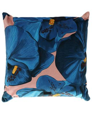 Orchidée velvet cushion WOOUF