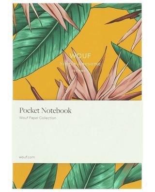 Bird Of Paradise A6 notebook WOOUF