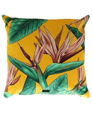 Bird Of Paradise velvet cushion WOOUF