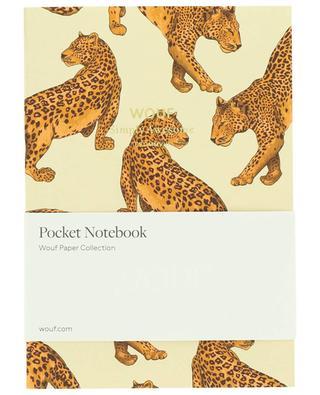 Bloc note A6 Leopard WOOUF