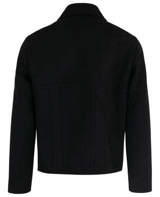 Virgin wool and cashmere jacket VALENTINO