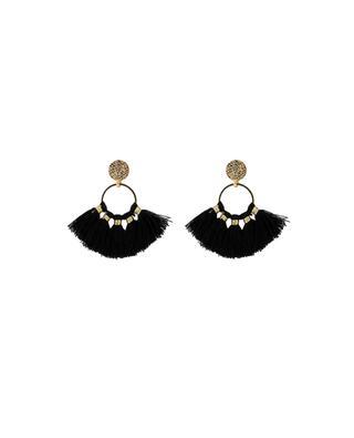 Pompoms earrings MOON C° PARIS