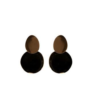 Boucles d'oreilles dorées MOON C° PARIS