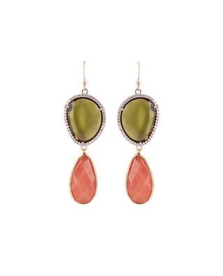 Crystals earrings MOON C° PARIS