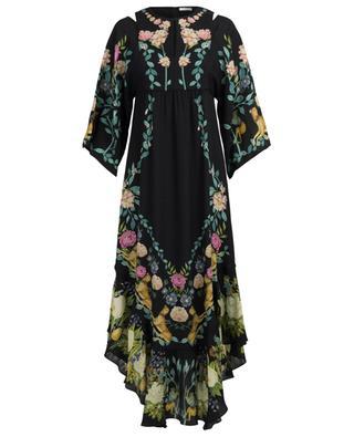 Bedrucktes Kleid aus Seide Elodie VILSHENKO