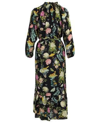 Bedrucktes Kleid aus Seide Olivia VILSHENKO