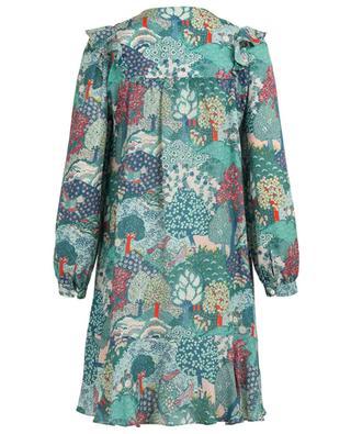 Bedrucktes Kleid aus Seide Camilla VILSHENKO