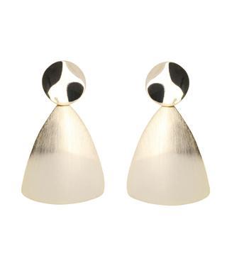 Brass earrings LES CLEIAS