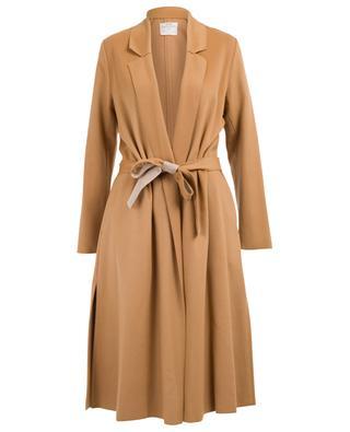 Long manteau en laine vierge FORTE FORTE