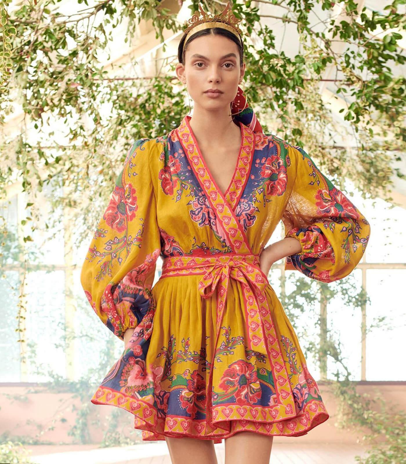 Zimmermann, robe The Lovestruck, collection printemps-été 2021