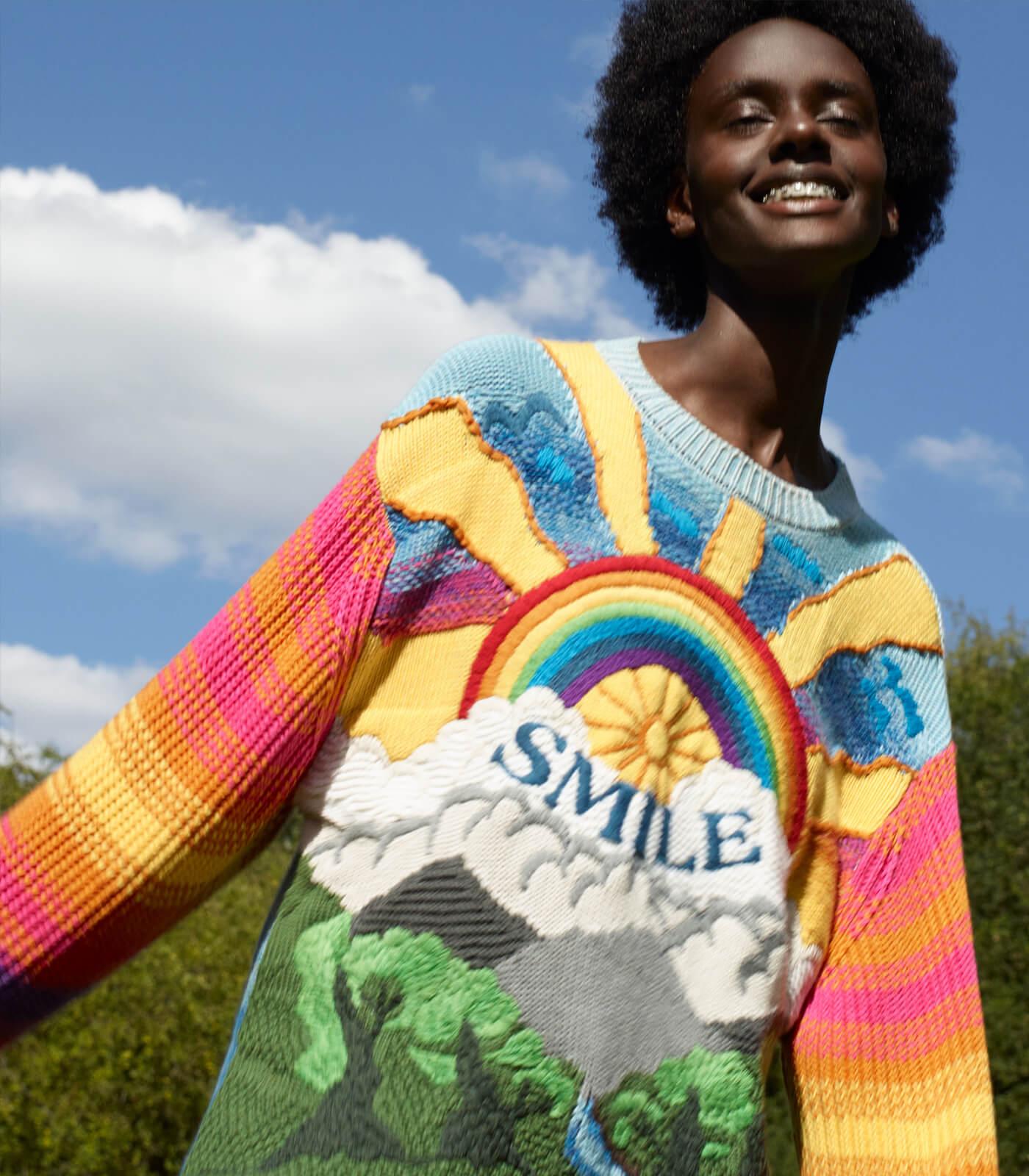 Stella McCartney, pull Kind, collection printemps-été 2021