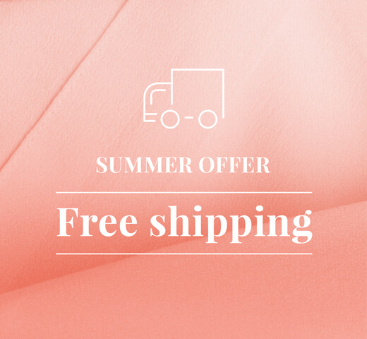 SUMMER OFFER - Free shipping