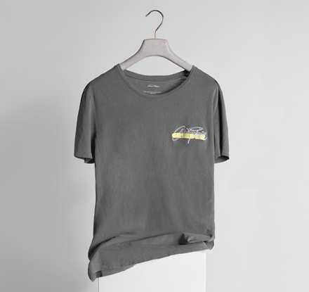 T-shirt with Grieder logo from the 70's