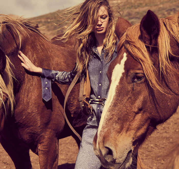 Néo cow-girl: le dressing de l'amazone moderne
