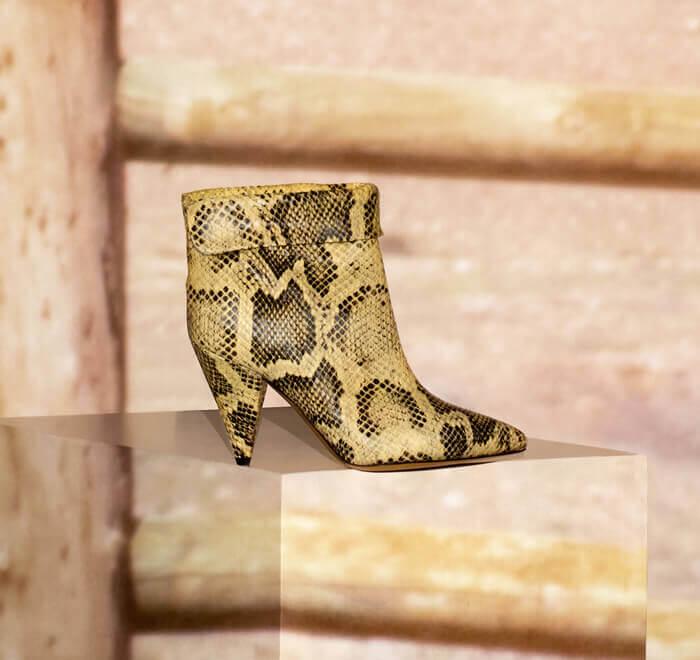 Bête de mode, les souliers en liberté